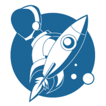 Blue_robot_rocket_logo_icon