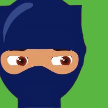 Ninja-green2bg