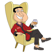 Quagmire-in-chair