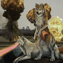 Laserwolves