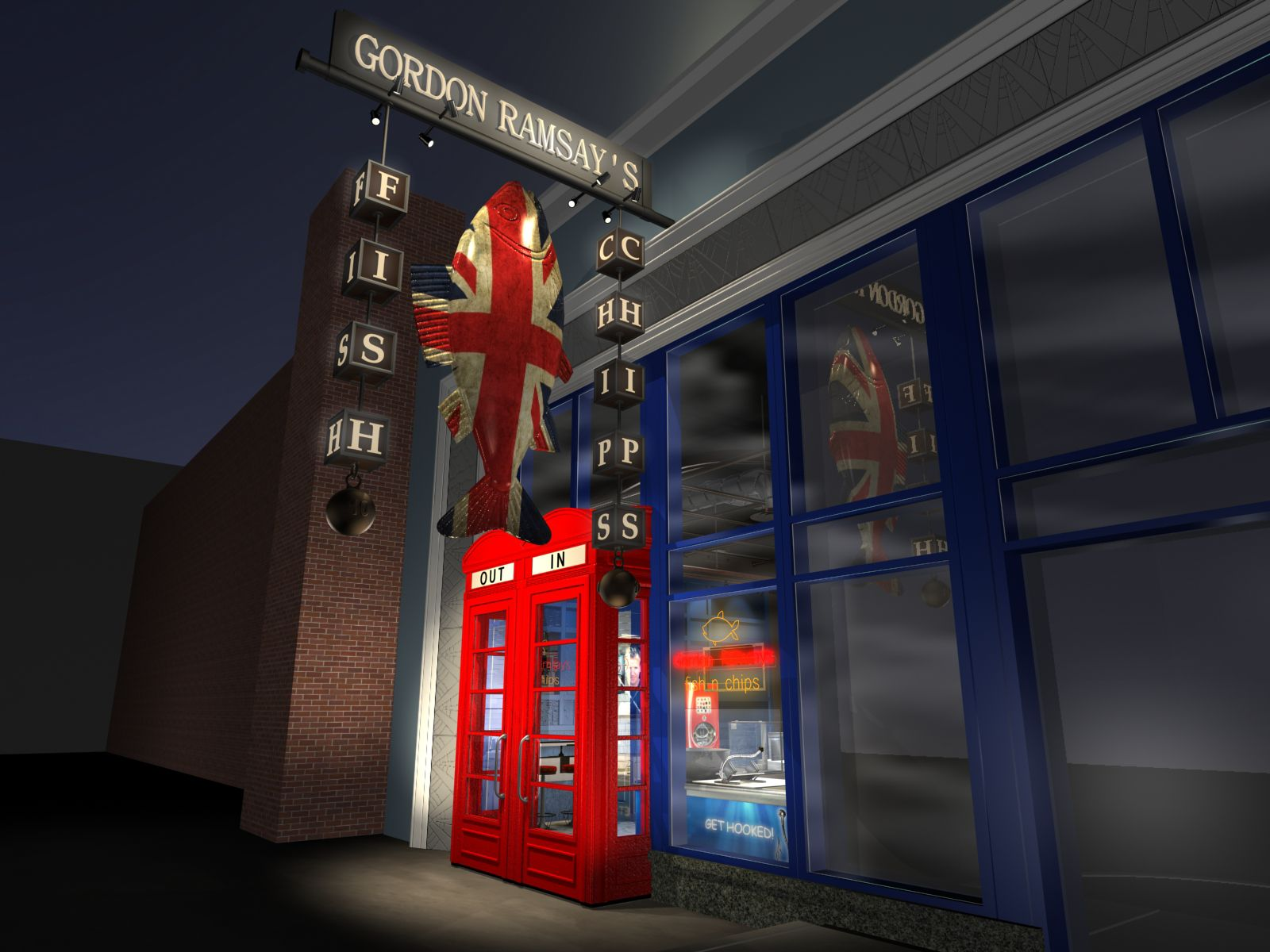 Confirmed gordon ramsay 39 s fish chips to the linq for Gordon ramsay las vegas fish and chips