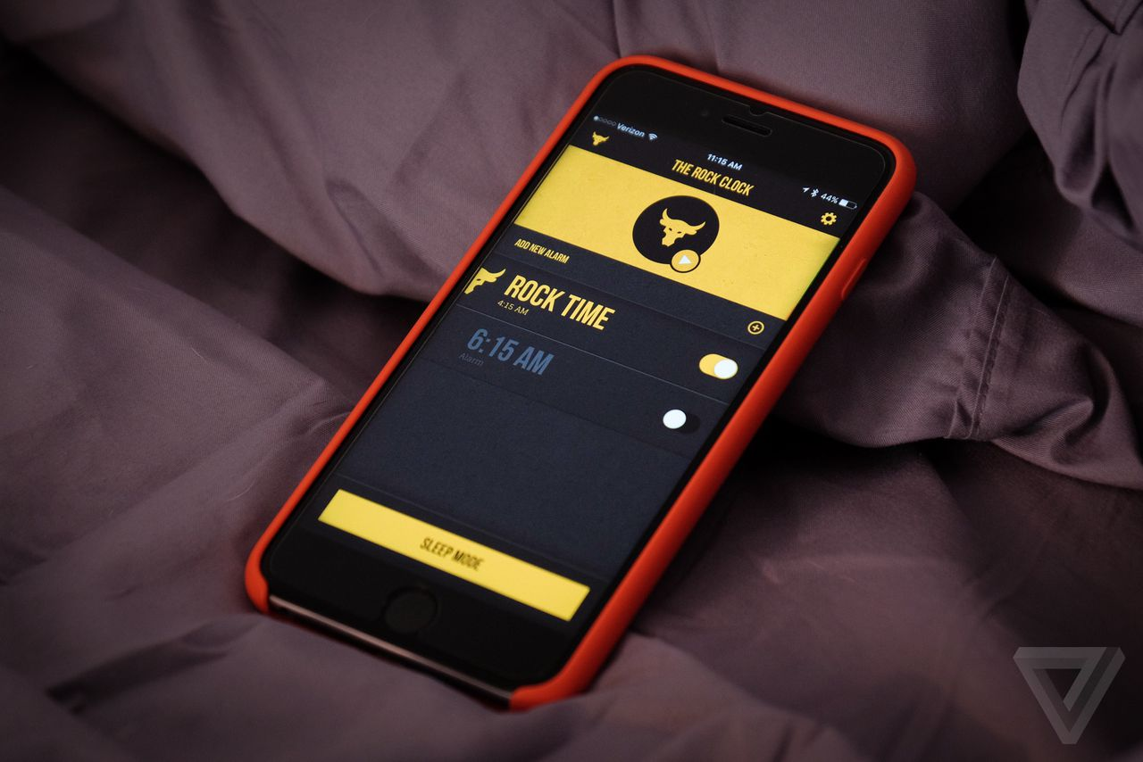 The Rock Clock: An Alarm That Gets You Out of Bed (And Motivated)