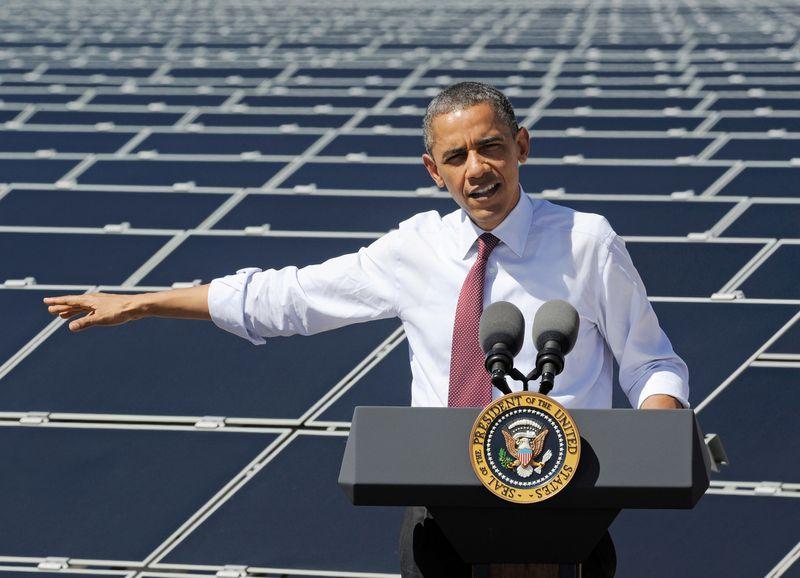 obama solar