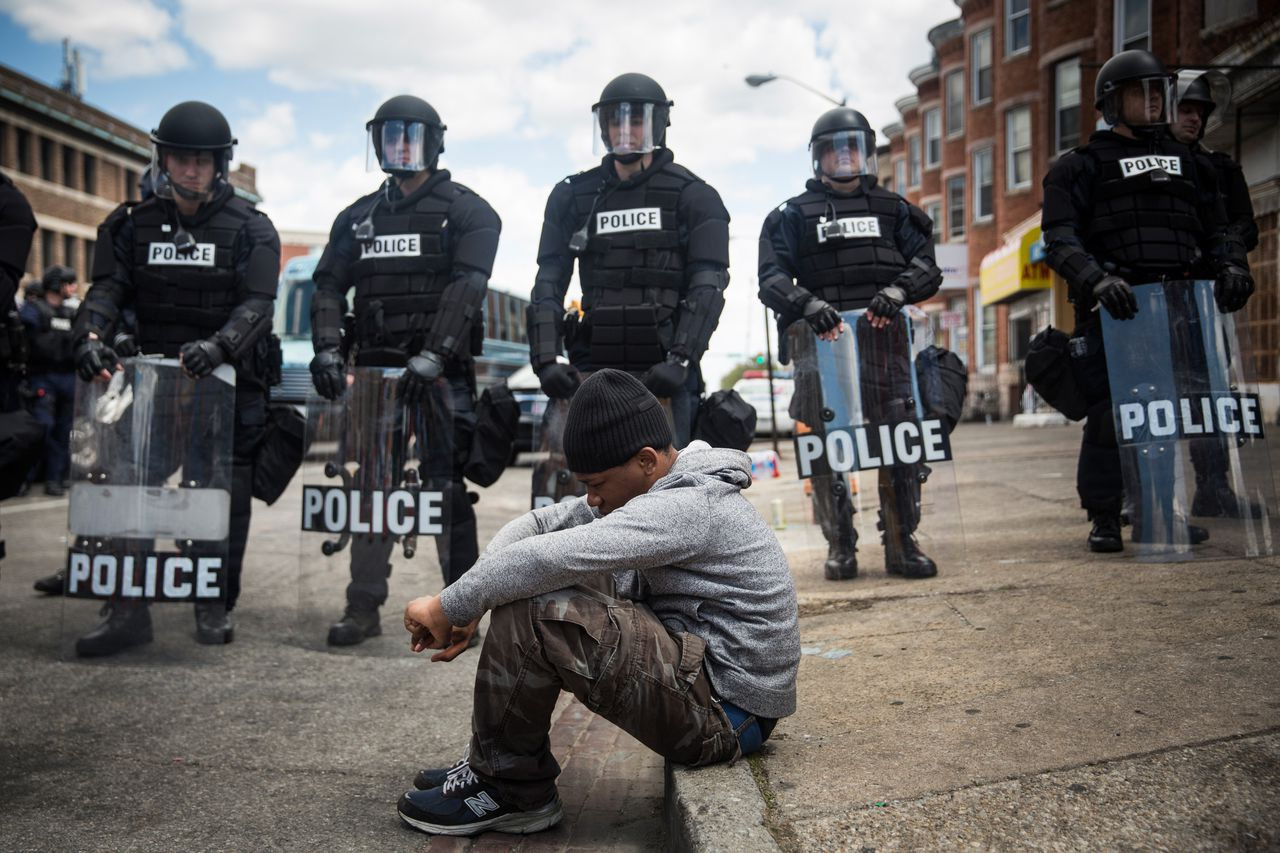 police brutality in anywhere usa essay Police brutality isn' racial profiling and police brutality against hispanics an illustrated history of racial profiling in the united states.