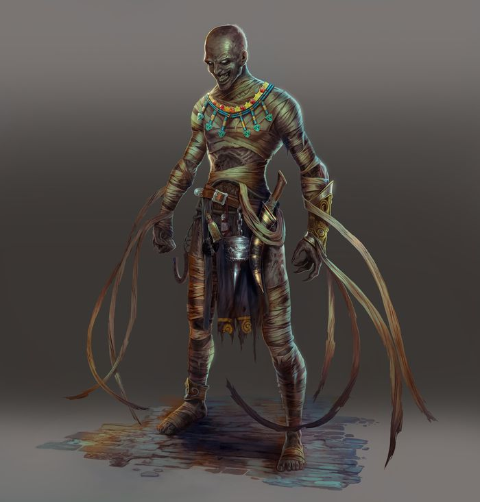 Killer Instinct's next Season 2 character is a 2,500-year-old mummy Kan-Ra_concept.0