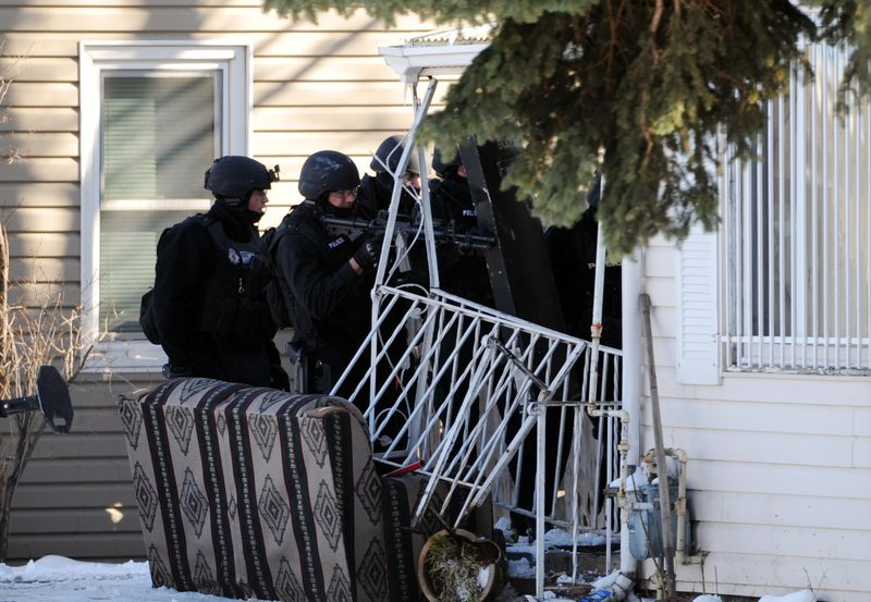 SWAT raid New Orleans Katrina