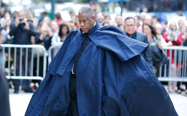 Andre Leon Talley (Photo by John Lamparski/Getty Images)