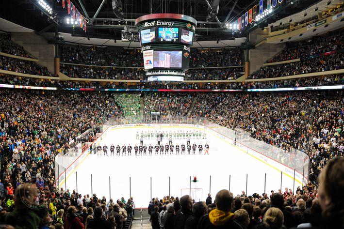 MN H.S.: 2015 Minnesota Boy's High School Hockey Tournament Breaks Attendance Record