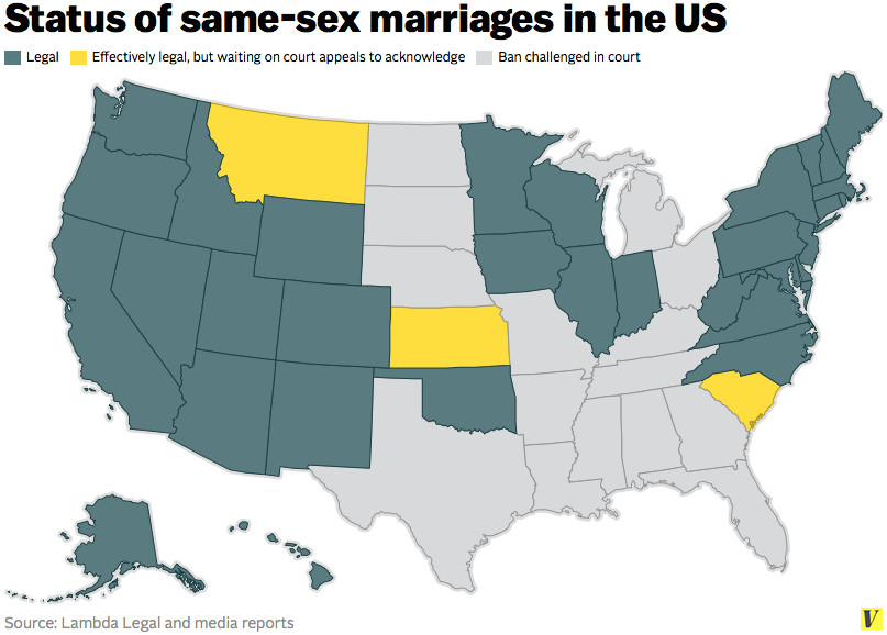 how gay marriage affected us