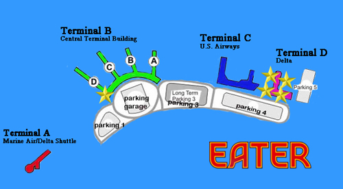 Where to Eat at LaGuardia Airport LGA  Eater NY