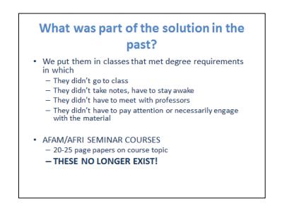 AFAM Slide 1