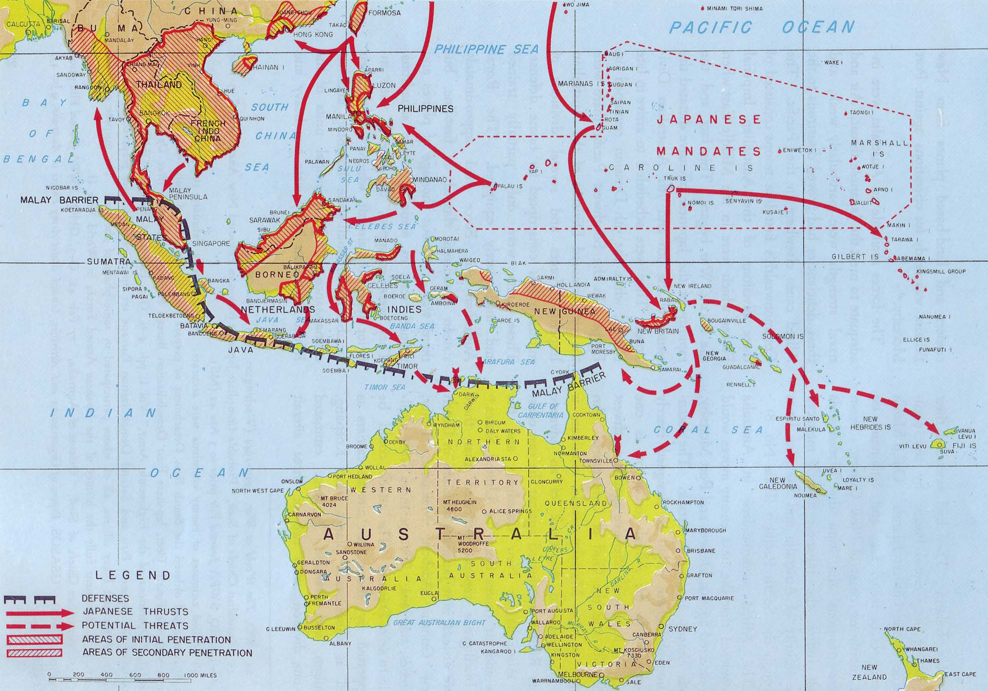 42 maps that explain World War II  Vox