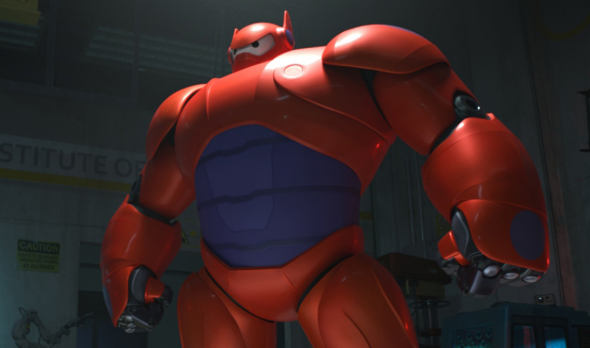 Big hero 6 movie baymax and hiro