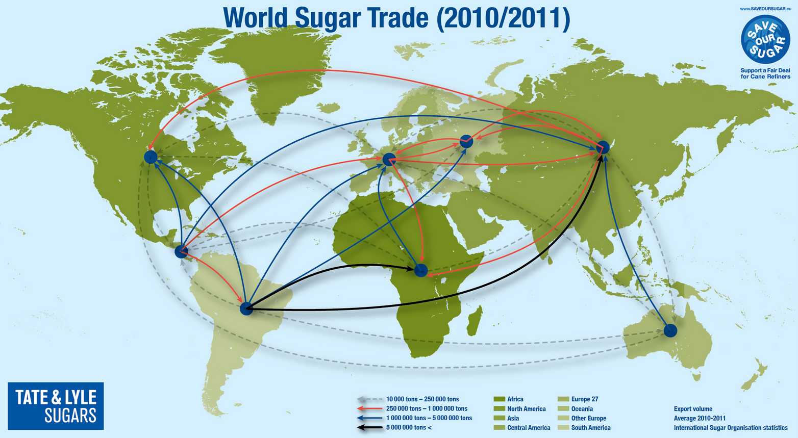 38 maps that explain the global economy vox how sugar circulates globally gumiabroncs Gallery