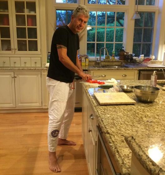 Anthony Bourdain Home Kitchen