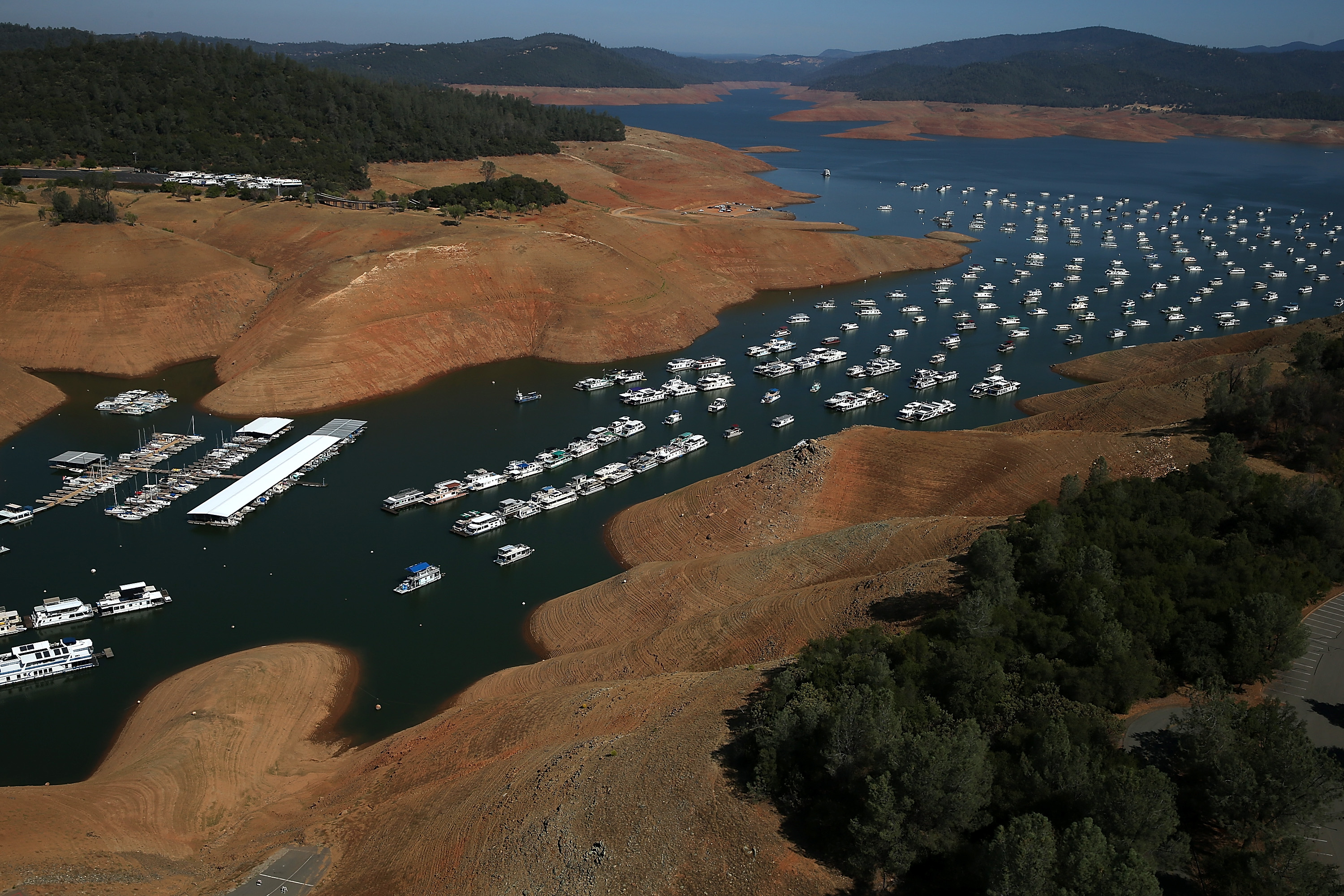 Stunning before and after images of California's drought - Vox