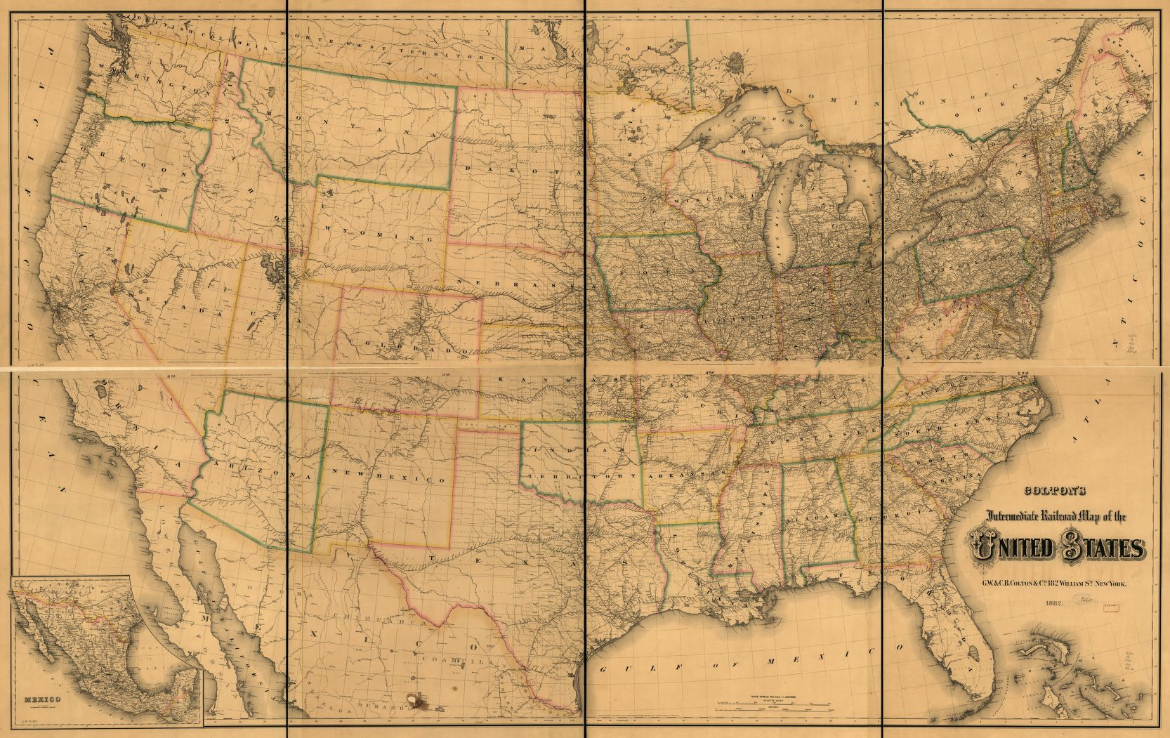 Maps And Charts That Explain The Midwest Vox - 1889 us railroad map