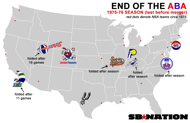 20 maps that explain the NBA - SBNation com