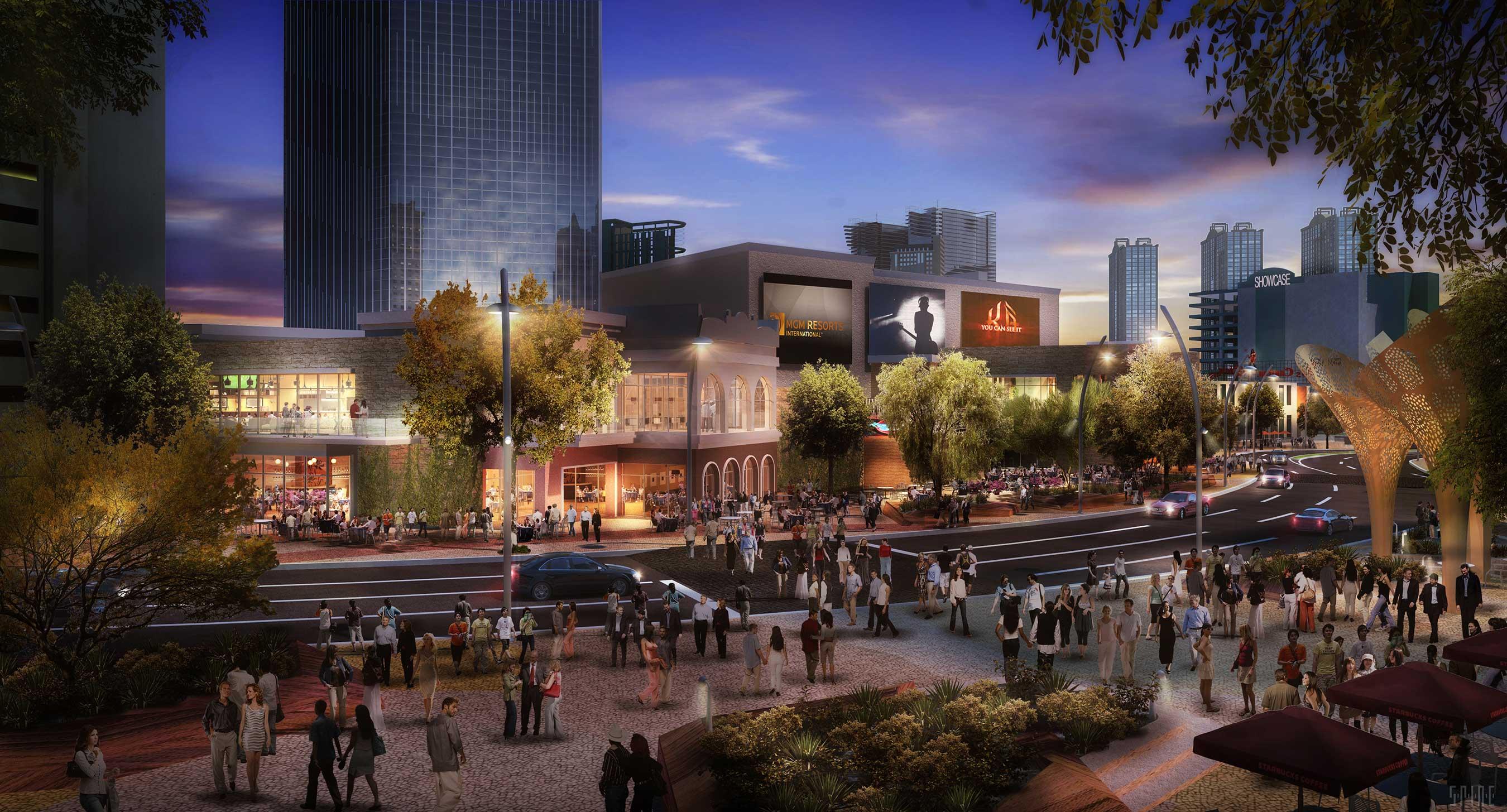 Six New Restaurants Heading to The Park - Eater Vegas