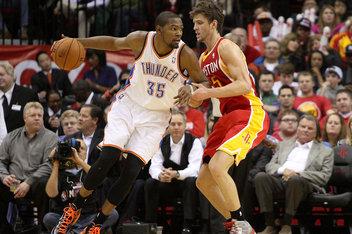 Houston Rockets vs. Oklahoma City Thunder: Game #1 - The Dream Shake