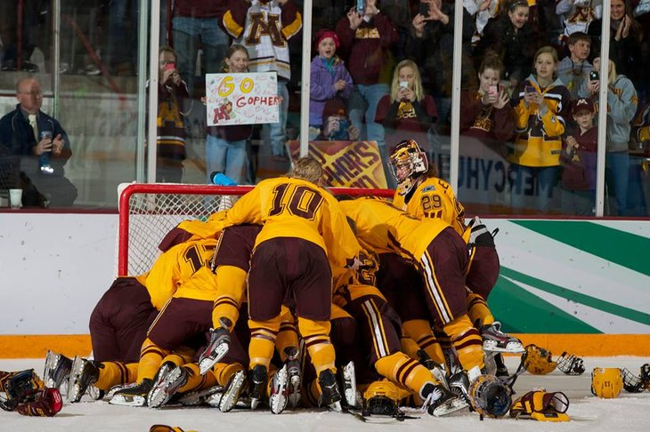 NCAA: 2014 Frozen Four - Minnesota Will Win A National Championship If...