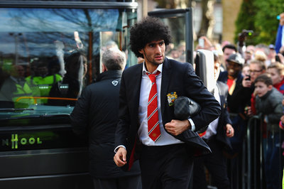 Marouane Fellaini accused of spitting at Pablo Zabaleta