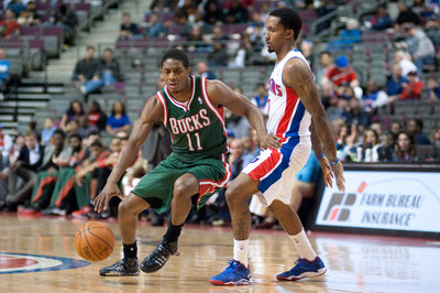Brandon Jennings fined by NBA for flopping