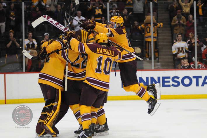 NCAA: 2014 Frozen Four - The Extra Cherry On Top Of The National Championship Sundae, Golden Gophers Square Off With UND Thursday