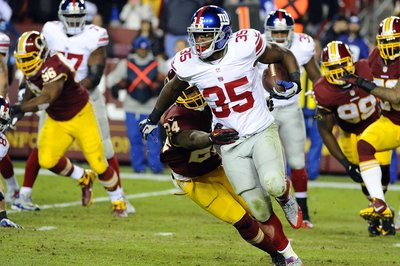 Andre Brown Signing: Former Giants' running back signs with Houston Texans