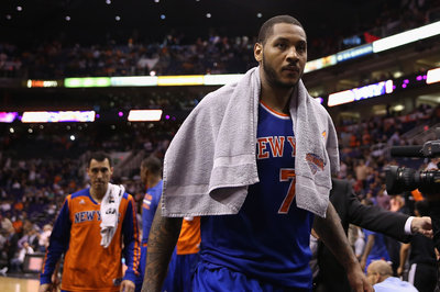 Nets-Knicks Injury Update: Livingston, Anderson and Teletovic are OUT; Carmelo Anthony is questionable