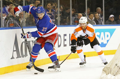 Flyers vs. Rangers: Claude Giroux vs. Ryan McDonagh will be a key matchup
