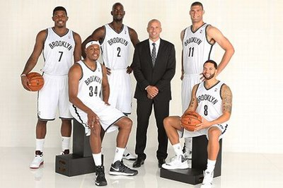 Brooklyn Nets big game pedigree - they've drunk a lot of champagne
