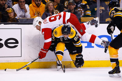Public Skate, Third Period -- Bruins 3, Red Wings 1