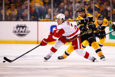 Public Skate, Second Period -- Bruins 2, Wings -1
