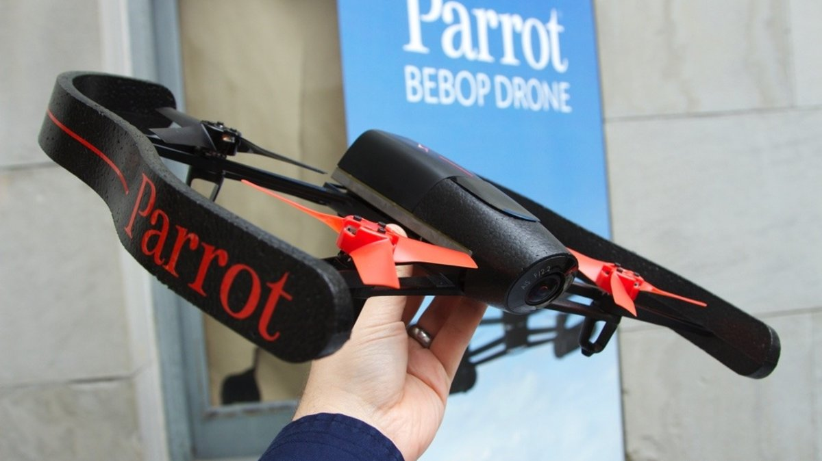 Parrot's new Bebop Drone promises out of body experiences and crystal-clear video