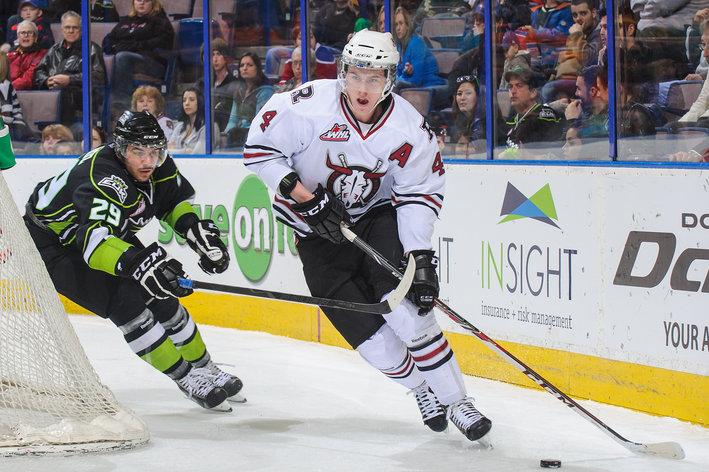 WHL: 2014 NHL Draft Prospect Profile #12 -- Haydn Fleury