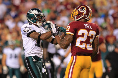 Hazard's Huddle: DeSean Jackson vs. DeAngelo Hall (Week 11)(Part 1)