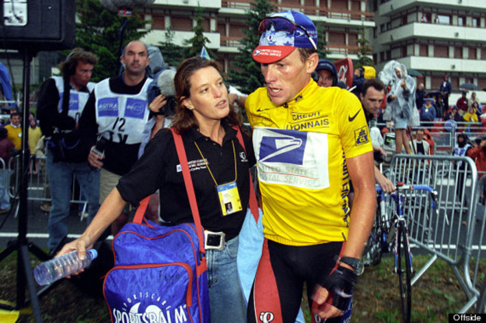 Photo: The Race To Truth - Blowing The Whistle On Lance Armstrong And Cycling's Doping Culture Author: Emma O'Reilly (with Shannon Kyle, foreword by Lance Armstrong).