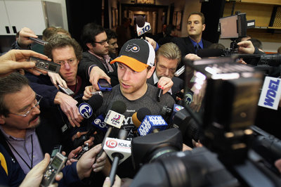 The Philly hockey media is predictably outraged at Claude Giroux
