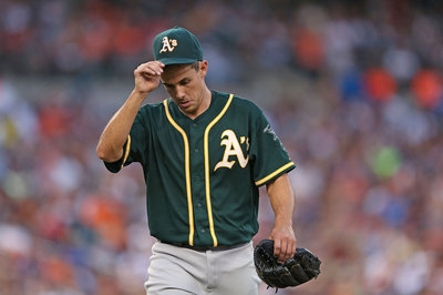 Athletics left-handed starting pitcher Brad Mills claimed by Toronto Blue Jays