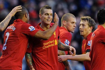 Agger Looking Forward to Champions League with Liverpool, Has Not Sold Family Home