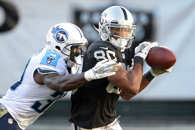 Raiders training camp wide receivers looking at some tough cuts