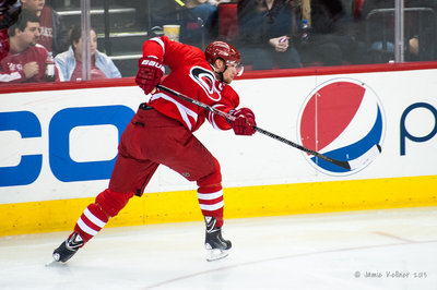 Hurricanes Captain Eric Staal Has