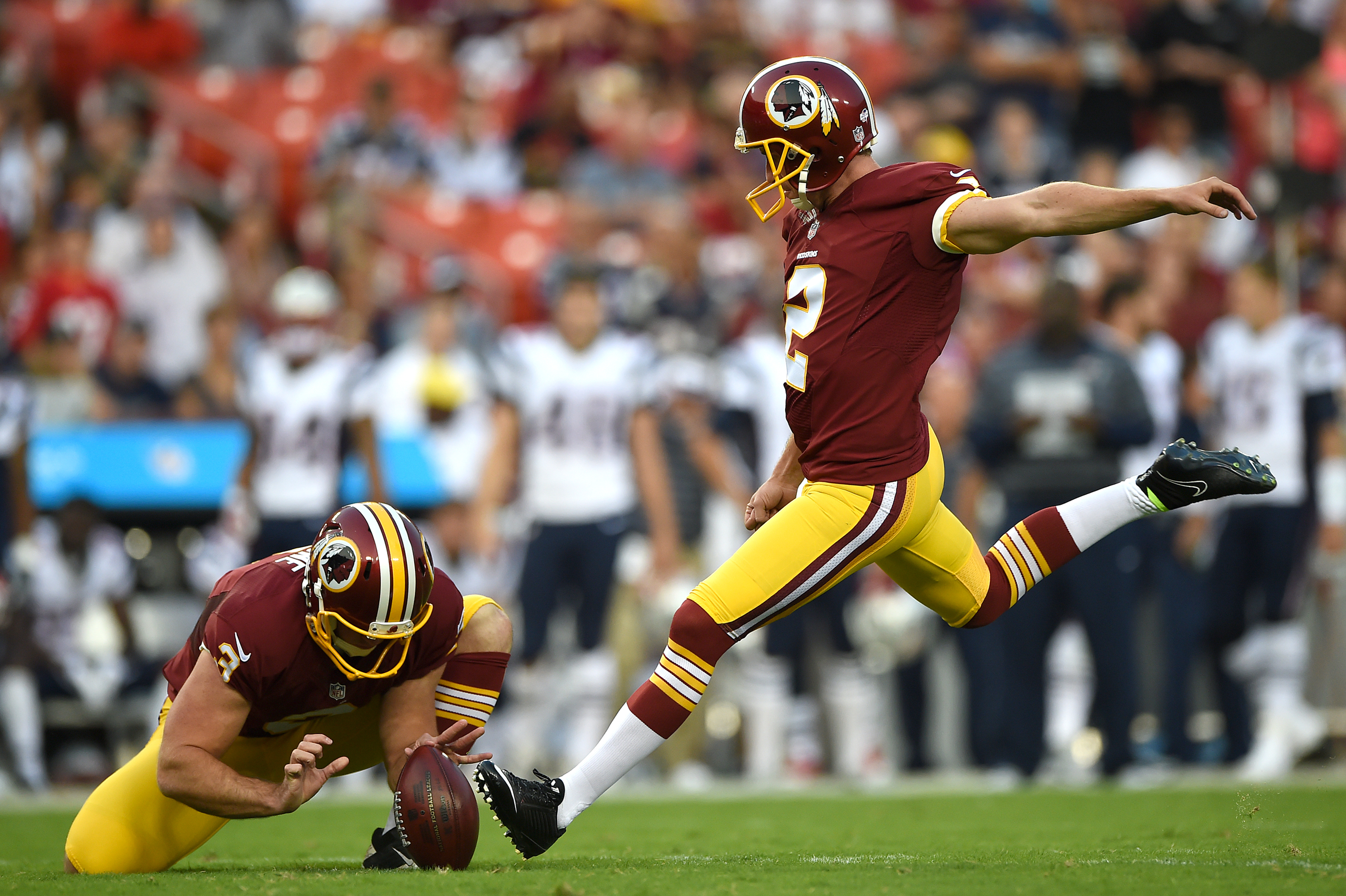 Kai Forbath vs Zach Hocker: The Fight to be the Washington Redskins Kicker in 2014