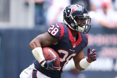 Houston Texans cut Andre Brown and Dennis Johnson
