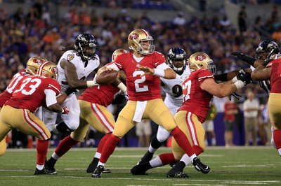 Blaine Gabbert remains the No. 2 QB for 49ers-Broncos
