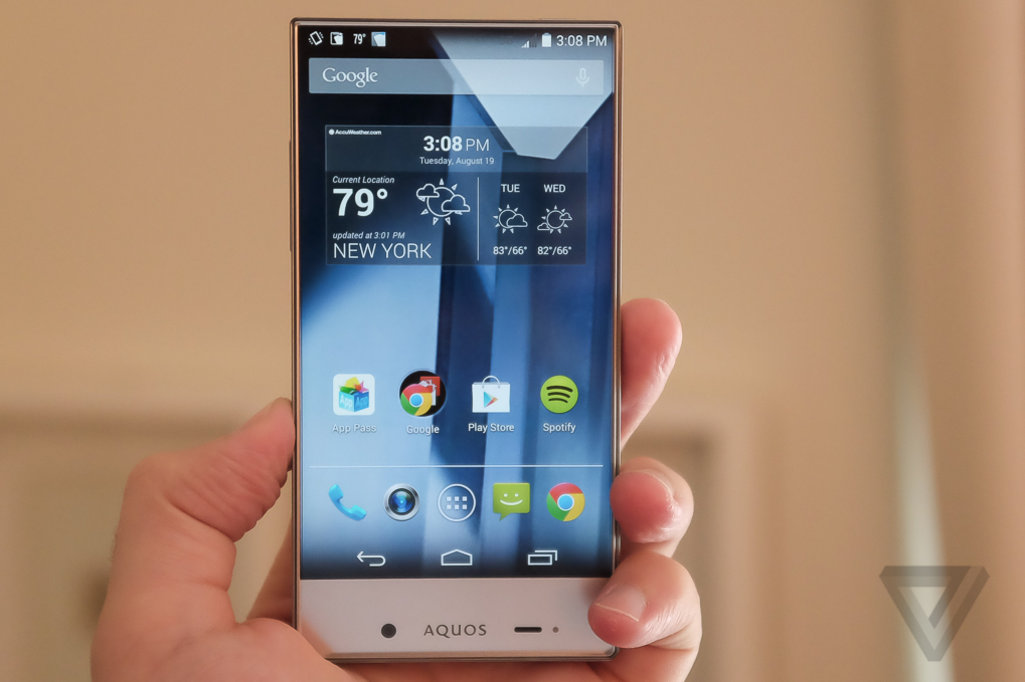 Sharp S Aquos Phone Is 83 Screen Android