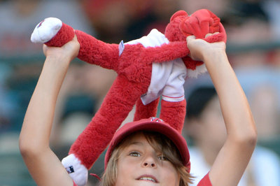 Angels Big Hit Over A's Arrives in Extras