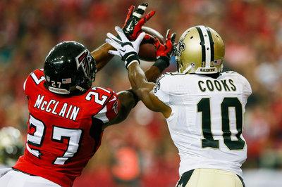 In Falcons' latest depth chart, Robert McClain starting at nickel back over Josh Wilson