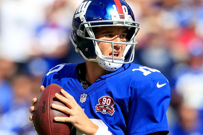 Examining Eli: Manning playing well ... except for those picks
